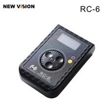 ファルコンアイズリモコン RC 6 ロータリーコントロール Led フォトカメラビデオ RX 12TD RX 18TD & SO 28TD/48TD/68TD ソフトライト