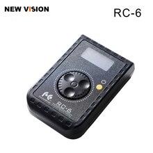 פלקון עיני שלט רחוק RC 6 רוטרי בקרת עבור Led תמונת וידאו RX 12TD RX 18TD & SO 28TD/48TD/68TD רך אור