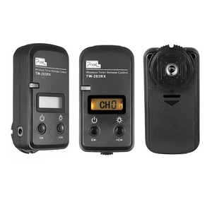 Image 3 - Pixel TW283 TW 283 N3 Wireless Timer Remote Control For Canon 7D 5D Mark ii 1D 6D 7D2 5D3 50D 40D 30D 10D Camera Shutter Release