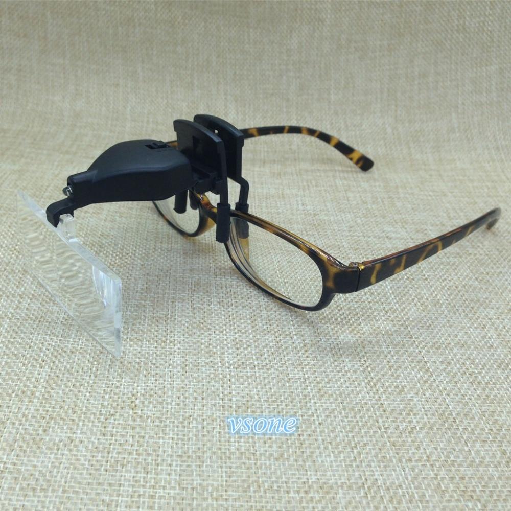 1edcfe34d67a 3 Lens Clip-On 1.5X 2.5X 3.5X 3D Reading LED Lights Magnifying. Share ·  Google+ · Tweet · 2016 Fashion Sunglasses Men Women Medusa Gold 3D Lion  Brand ...