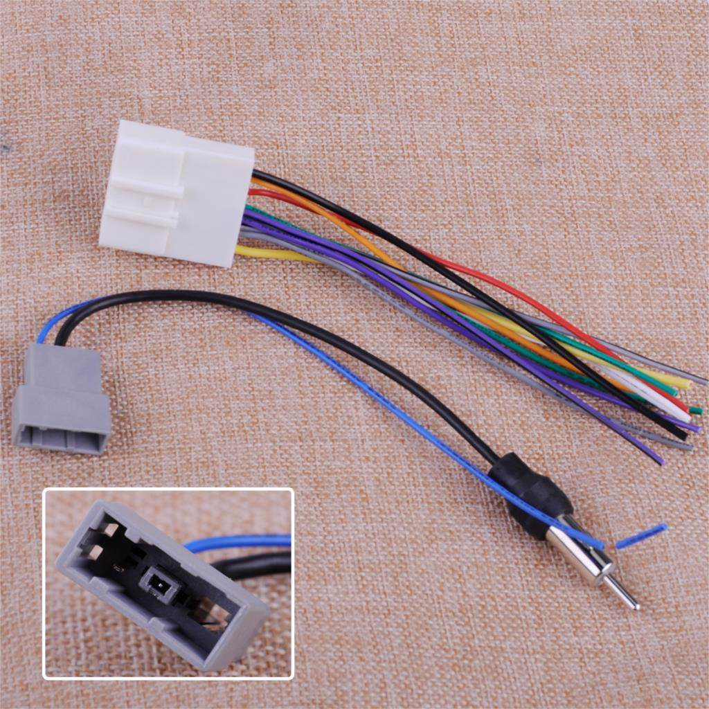 Online Shop Citall Car Radio Stereo Iso Standard Wiring Harness Cd Subaru Wire Dvd Install Audio Cable Plugs Antenna Adapter Fit For Nissan