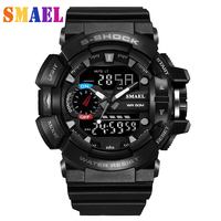 S SHOCK Men Quartz Digital Watch Men G Style Sports Watches Relogio Masculino LED Military Waterproof digital Wristwatches men`s