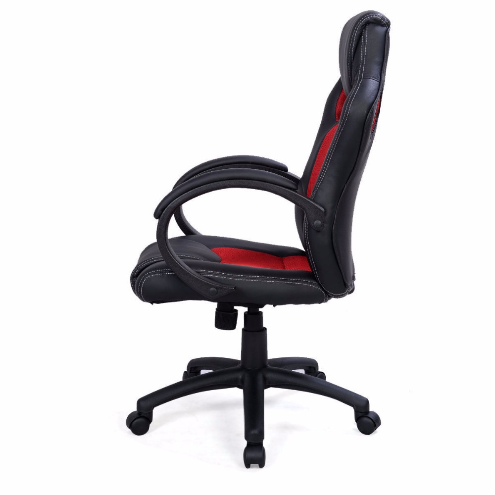 Desk Seat Us 84 99 High Back Race Car Style Bucket Seat Office Desk Chair Gaming Chair Red New Cb10068re In Office Chairs From Furniture On Aliexpress