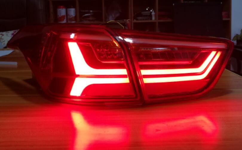 Автомобиль Stlying задний фонарь задние фонари автомобиля изменен для Хендай IX25 2шт