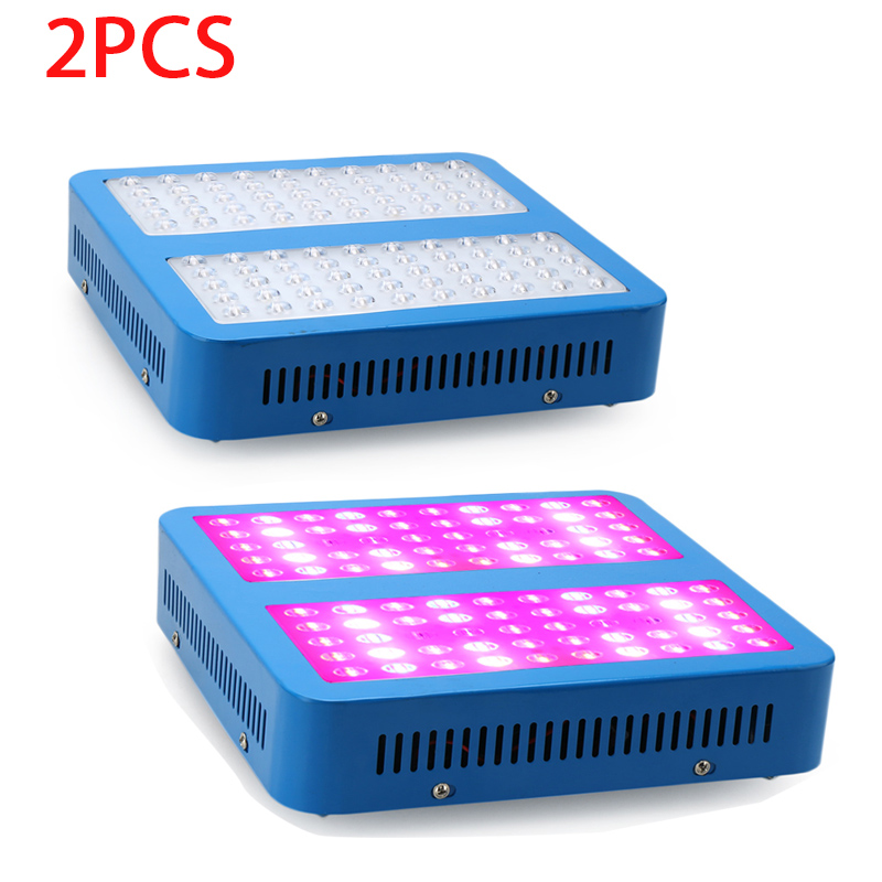 2pcs 1000W LED Plant Grow Panel Light Hydroponics Lamps AC85-265V  For Flowering Plant Indoor Grow Box