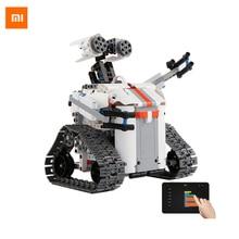Xiaomi Mitu Smart Robot Tank Mecha Crawler Base Bluetooth Mobile Remote Control Mitu Building Blocks Robot Crawler Tank Version