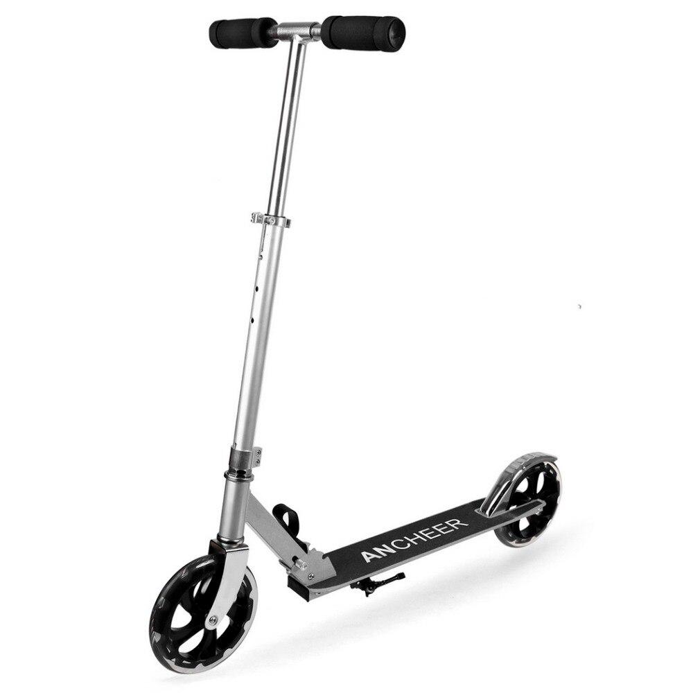 NOUVEAU En Alliage D'aluminium Pied Scooters Adulte Enfants Scooter trottinette Pliant Planche 2 Roues Patinete Adulto