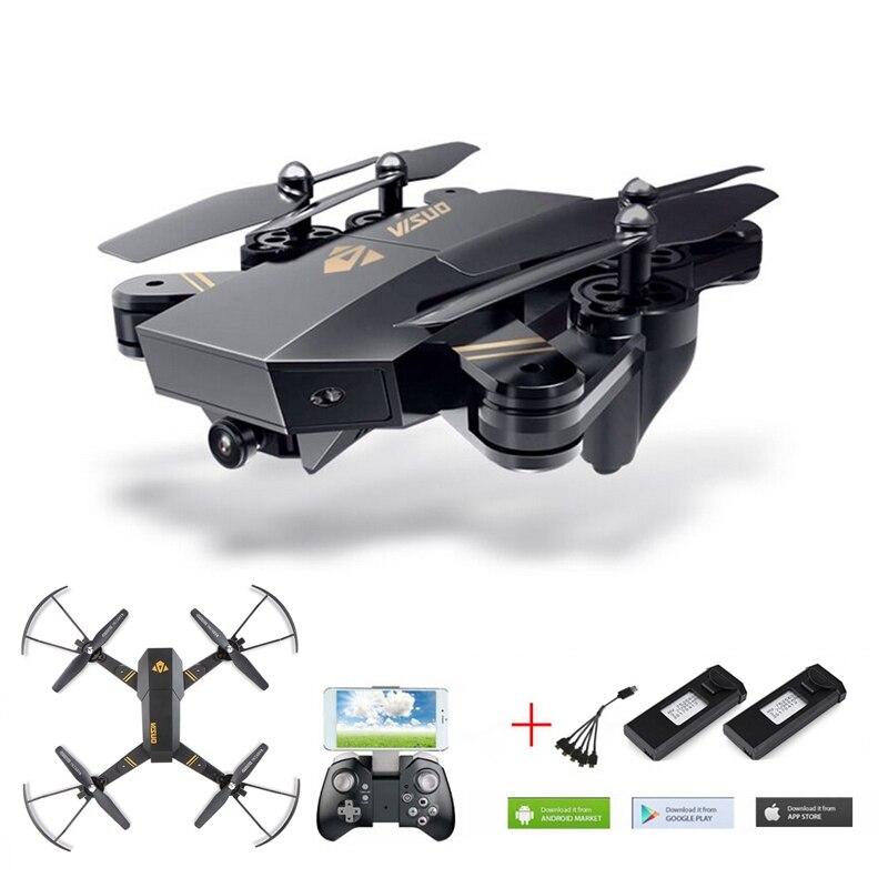 VISUO Xs809w Xs809hw Selfie Drone Con La Macchina Fotografica Wifi Fpv Rc Quadcopter Drone Rc Helicopter Dron Telecomando Giocattolo Per I Bambini