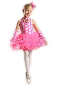 Ballet Dress For Children Girl Dance Clothing Kids Sleeveless Ballet Dresses For Girls Dance Girl Dance Wear Kids Gymnastics