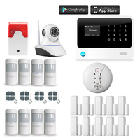 Chuangkesafe G90B Plus Home Alarm System With IP Camera Proffesional Wireless GSM Remote Control 1 Smoke