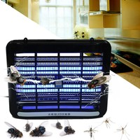 220V 2W LED Night Light Indoor Bedroom Electric Mosquito Insect Killer Lamp Lights Electronic Bug Fly