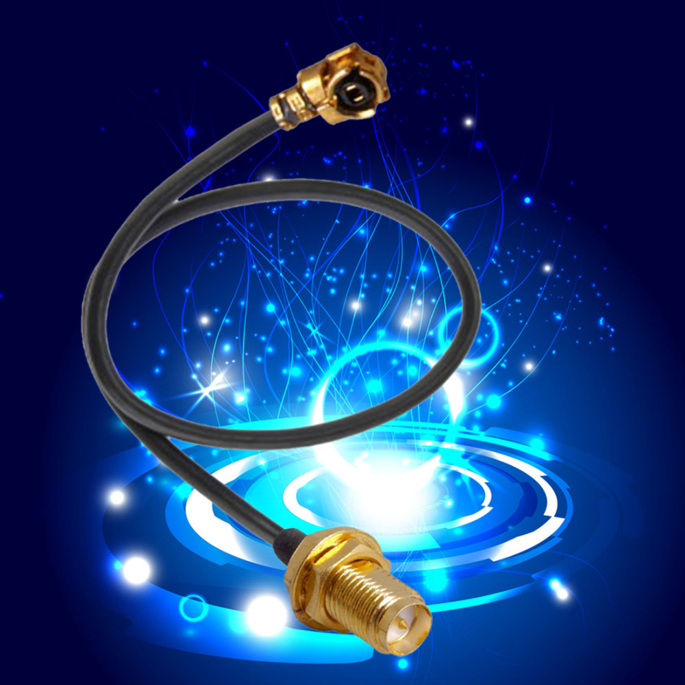 18cm 2Pcs/set SMA Connector Extension Cord UFL to RP Antenna WiFi Pigtail Cable IPX to RP-SMA Jack Male SMA to IPX