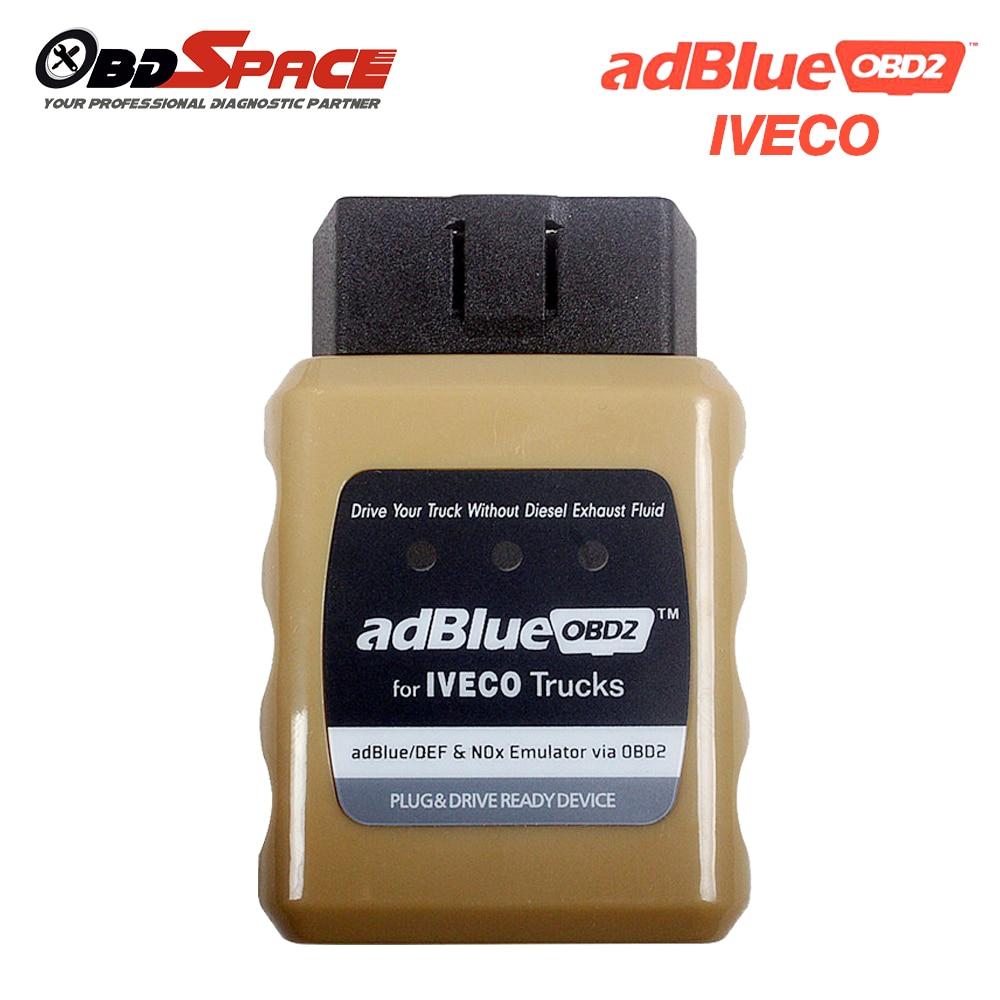 Prix pour 2017 Haute Qualité Adblue Émulateur IVECO OBD2 adblue pour Camion IVECO Adblue OBD2 Adblue/DEF Nox Émulateur de Brancher et D'entraînement pour iveco
