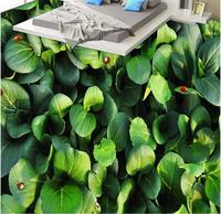3d floor tiles vegetable garden wallpaper for kids room Toilet Bathroom Bedroom self adhesive wallpaper 3d flooring