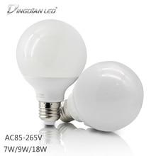 LED Bulbs Tube E27 110V 220V Super Bright Dragon Ball Light 7W 9W 18W High Power White Warm White For Home Living Lighting все цены
