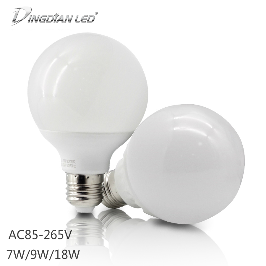 E27 LED-Leuchtmittel Warmweiss 560lm 7W