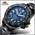 Мужские механические часы Relogio Tevise  автоматические часы Montre Homme  водонепроницаемые наручные часы с подарочной коробкой