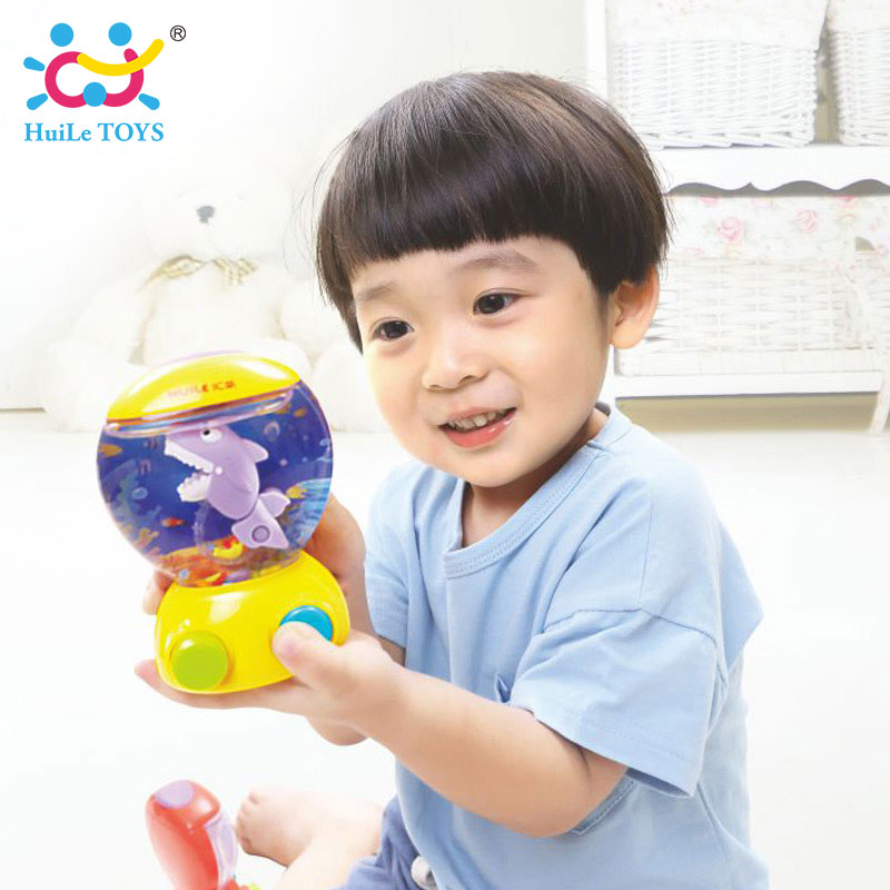 HUILE TOYS 3110 Baby Bath Toys Water Toys Shark Fish Hunt Toy Kids Bathroom Game Play