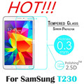 """9H 2.5D Tempered Glass Film Explosion Proof For Samsung Galaxy Tab 4 T230 T231 T235 7.0"""" Tablet PC Screen Protect Cover film"""