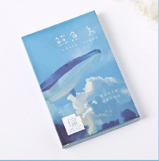 14.3cm*9.3cm Whale Island Paper Postcard(1pack=30pieces)