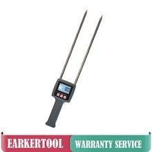Портативный TK-100 измеритель влажности цифровой TK100 тестер влажности для трав, травы, пшеничных отрубей, корма для животных, волоконного материала