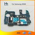 Abierto original de trabajo para samsung galaxy s4 i9500 placa base placa lógica con chips