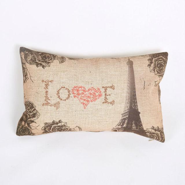 Free Shipping Decorative Throw Pillows Linen Rectangle Decorative Simple 30 X 30 Decorative Pillows