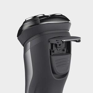 Image 4 - Soocas ÇOK BEYAZ Elektrikli Tıraş Makinesi Jilet Erkekler Yıkanabilir USB Şarj Edilebilir 3D Yüzen Akıllı Kontrol Tıraş Sakal Temizleyici