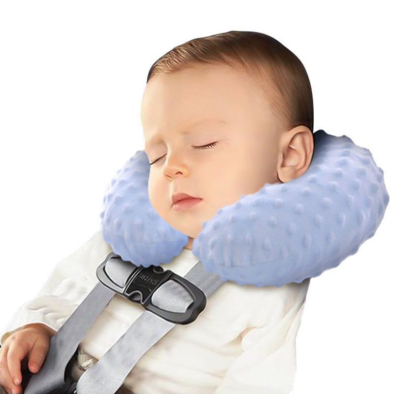 yooap Baby travel inflatable pillow Multifunctional u-shaped  Creative cartoon neck toddler