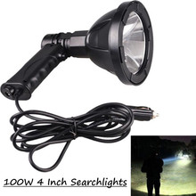 12V/24V high power handheld light hunting Lamp searchlight LED 100W outdoor fishing Camping torch lawn lamps Vehicle lights