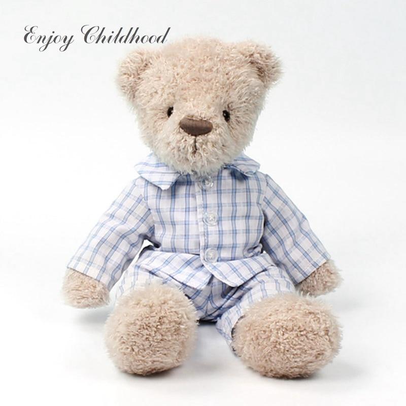 FoPcc 21cm Cute Music Bear Plush Toy Bear Play And Seek Lovely Cartoon Stuffed Teddy Bear Kids Birthday Gift the lovely bow bear doll teddy bear hug bear plush toy doll birthday gift blue bear about 120cm