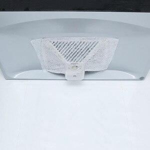 Image 1 - 10 חבילות 46X32cm ספיגת נייר אנטי שמן אוניברסלי שאינו ארוג אנטי שמן כותנה מסנני סיר הוד Extractor מאוורר מסנן