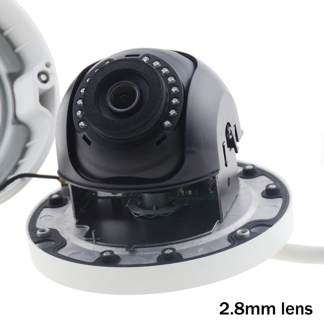 Hikviosn DS-2CD3145F-I Replace DS-2CD2145F-IS 4MP Camera Support H.265 HEVC with TF Card Slot Mini Dome POE IP CCTV Camera