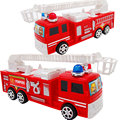 Baby toys diecasts and toy vehicle Children Q vertion mini fire engine car boy toys inertia plastic model truck kids toys gifts