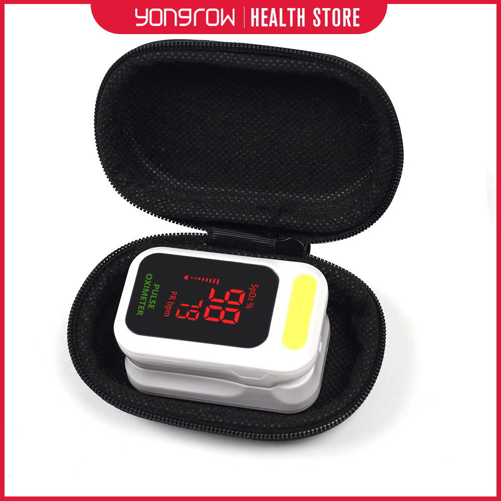 Yongrow Medical Digital Fingertip Pulse Oximeter Blood Oxygen Saturation PR Monitor SpO2 high Accurate Family Health Care CEYongrow Medical Digital Fingertip Pulse Oximeter Blood Oxygen Saturation PR Monitor SpO2 high Accurate Family Health Care CE