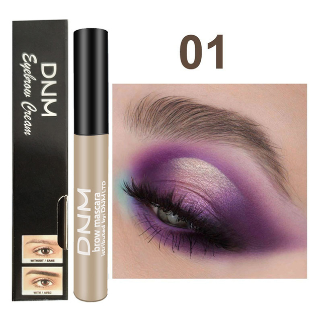 1PC Waterproof Makeup Eye Brow Gel Coffee Black Brown Color Eyebrows Gel Paint Eyebrow Tint Mascaras Kit Eye Brow Beauty Tools 2