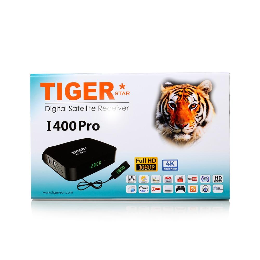 US $148 0 |Tiger star I400 Pro Satellite Receiver Satellite IPTV receiver  For Arabic ,Europe,4K iptv channels over 1000 channels-in Satellite TV