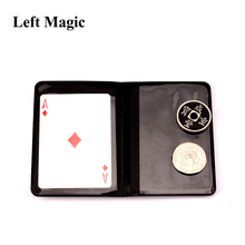leather Coin Magic Tricks Mental Ancient Coins Transposition Accessories Close Up Props Illusions