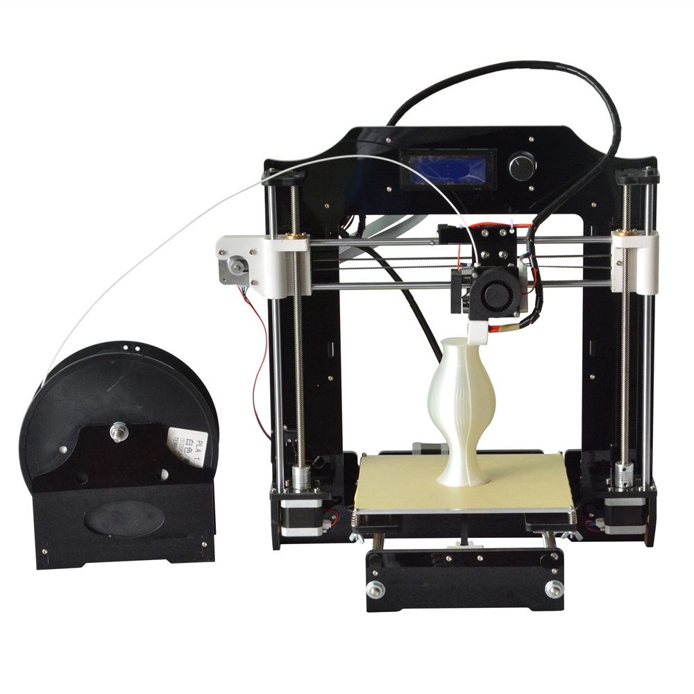 RepRap Prusa i3 3D Printer kits FDM Injection Molded CNC Full Colors 3d printer with 1