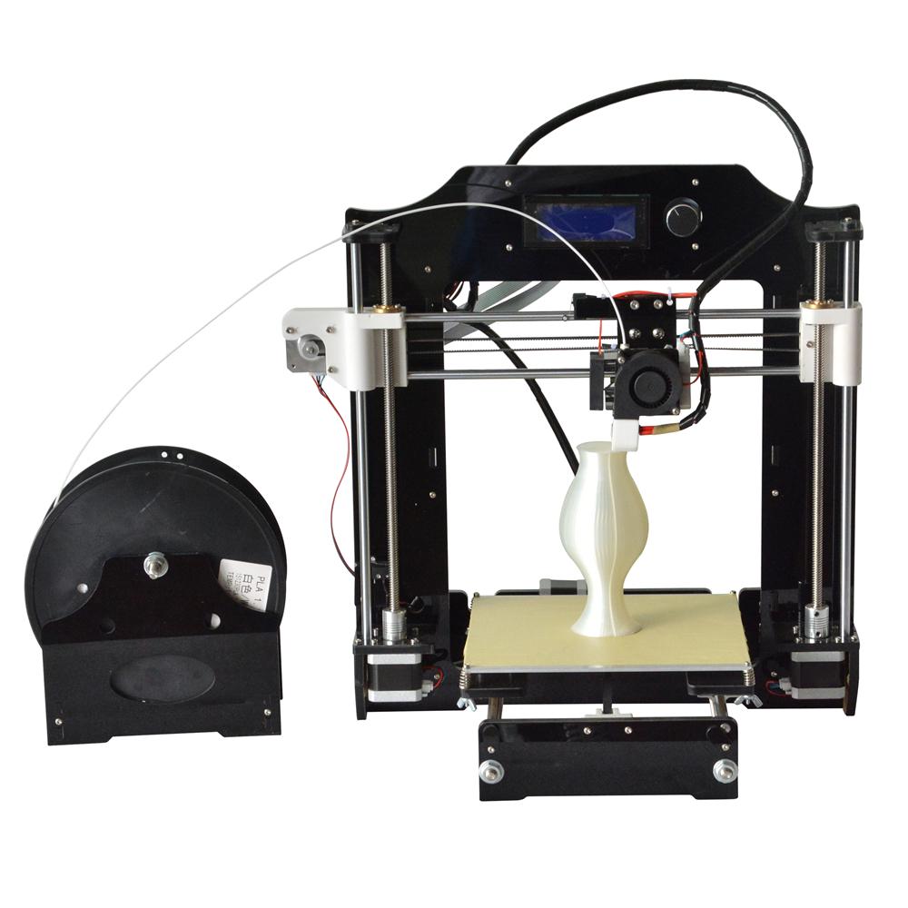 Prix pour Reprap prusa i3 3d imprimante kits fdm moulé par injection cnc complet couleurs 3d imprimante avec 1 rouleau Filaments pour Artistique et L'éducation