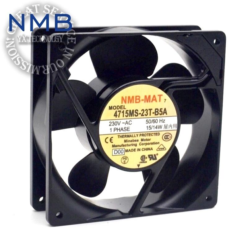 NMB Brand new original converter fan fan 4715MS-20T-B50 Cabinet 200V UPS power supply fan 119*119*38mm ebm papst brand new original high temperature fan 4580n 1238 230v 18w ups power supply 119 119 38mm