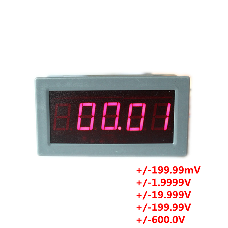 High Voltage Detector With Display : High precision accuracy quot digits dc voltmeter