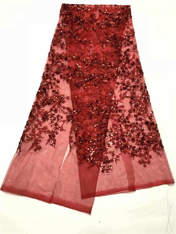 Новое поступление, швейцарская шифоновая ткань с золотыми блестками, 2019 высокое качество, африканский тюль, кружевная ткань для индийского сари, платье для шитья, зеленый цвет