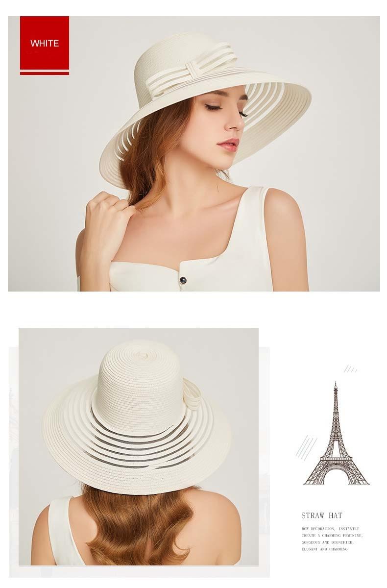 chapeau soleil femme