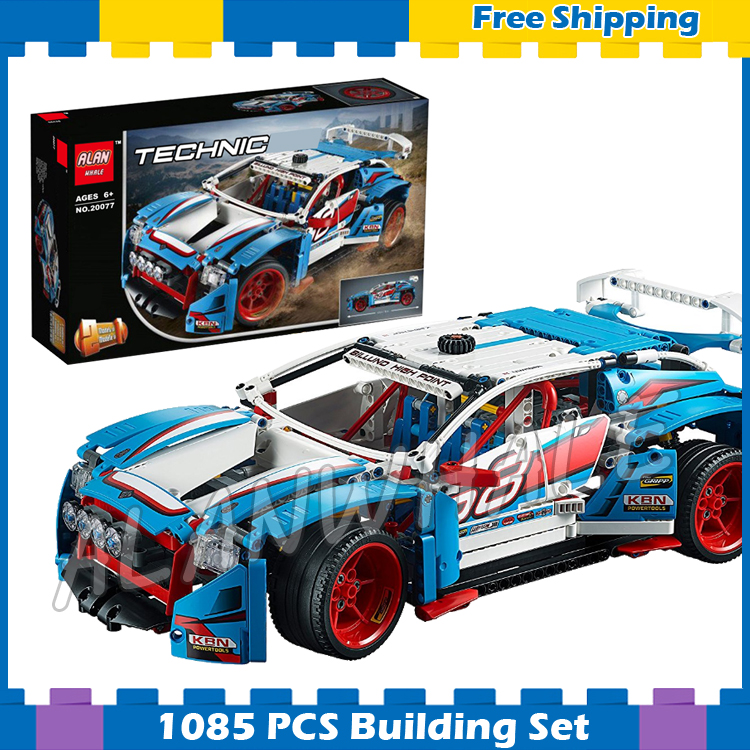 1085pcs 2in1 Techinic Advanced Rally Car High-speed Buggy 20077 Model Building Blocks Assemble Gifts Sets Compatible With lego 720pcs techinic 2in1 motorized container