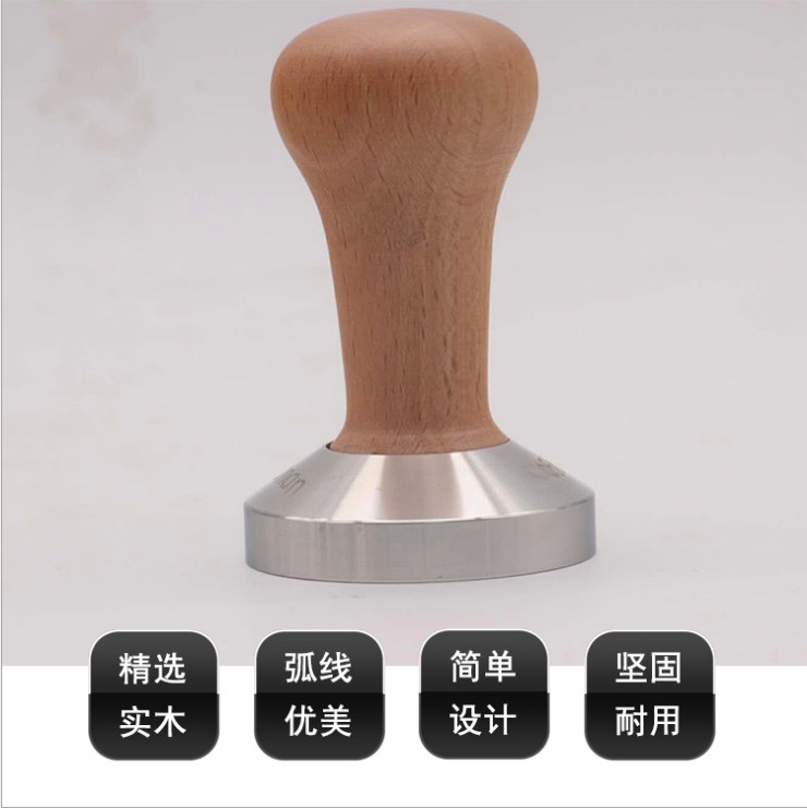 Professional wooden handle coffee tamper 58mm/barista tool cafe tamper with high quality and excellent price origo klassik barista 1000 г