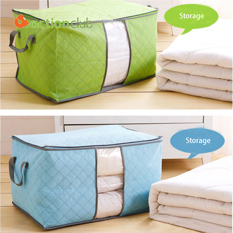 Free Shipping Home Clothing Blanket Storage Boxes Brand