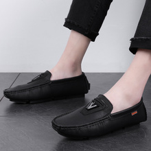 2018 new Men Shoes Brand Casual Slip On Formal Luxury Loafers Moccasins Leather  5