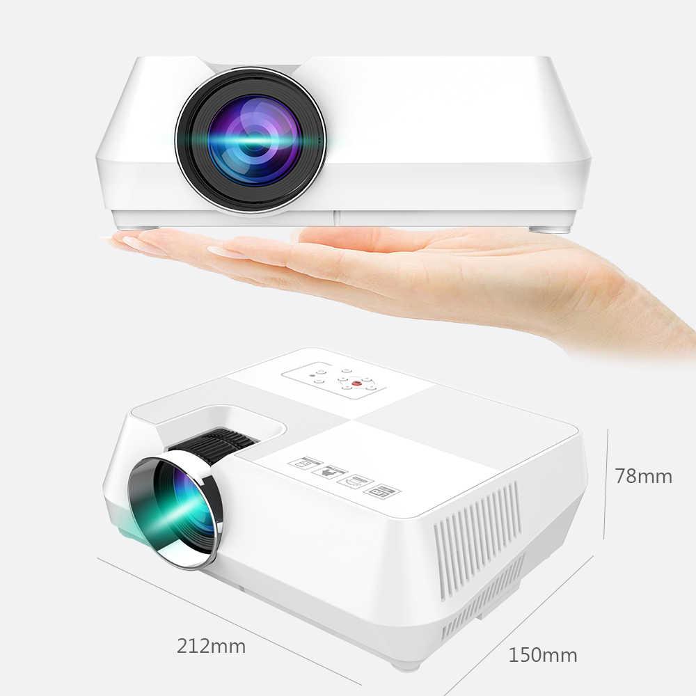 Vivicine мини светодиодный проектор, портативный мультимедийный Видеопроектор для киноигр опционально 1280x800 Android wifi Bluetooth Beamer