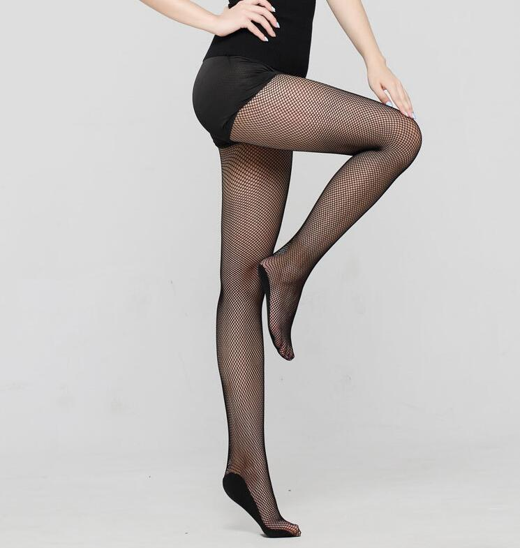 f29c47c1b 2019 Professional Latin Dance Pantyhose Stockings Socks Fishnet ...